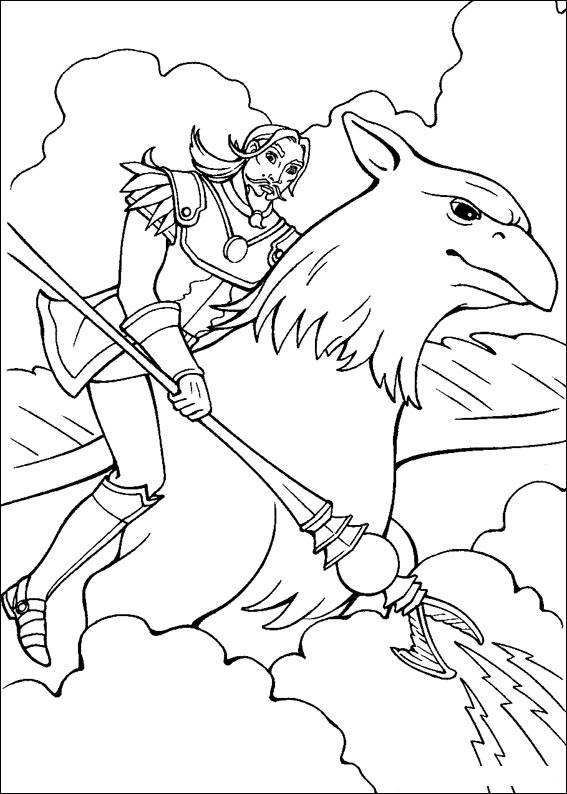 Barbie and The Magic Pegasus Colouring Pictures 2