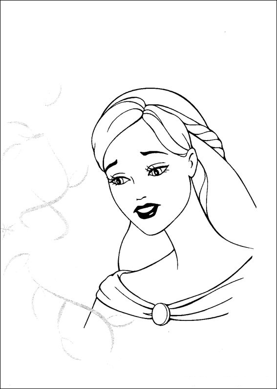 Barbie and The Magic Pegasus Colouring Pictures 5