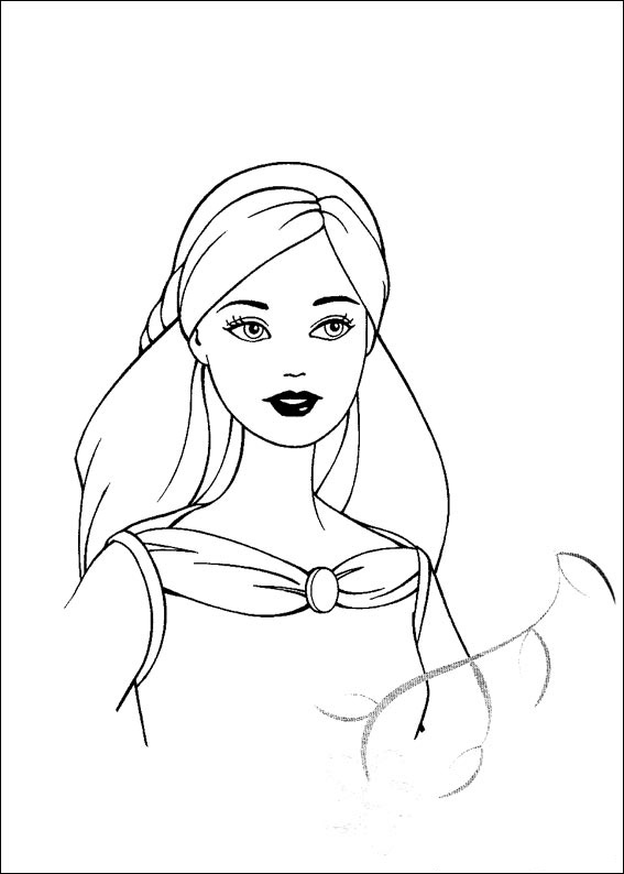 Barbie and The Magic Pegasus Colouring Pictures 6