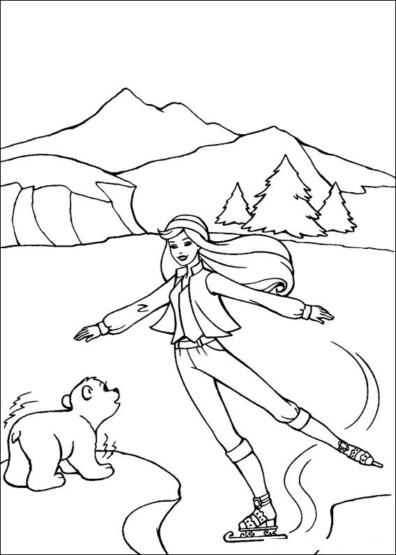 Barbie and The Magic Pegasus Colouring Pictures 7