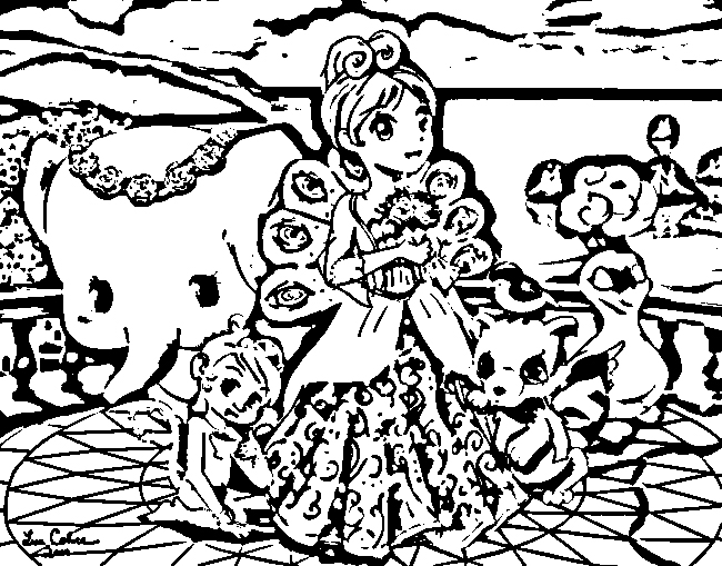 Barbie as The Island Princess Colouring Pictures 11