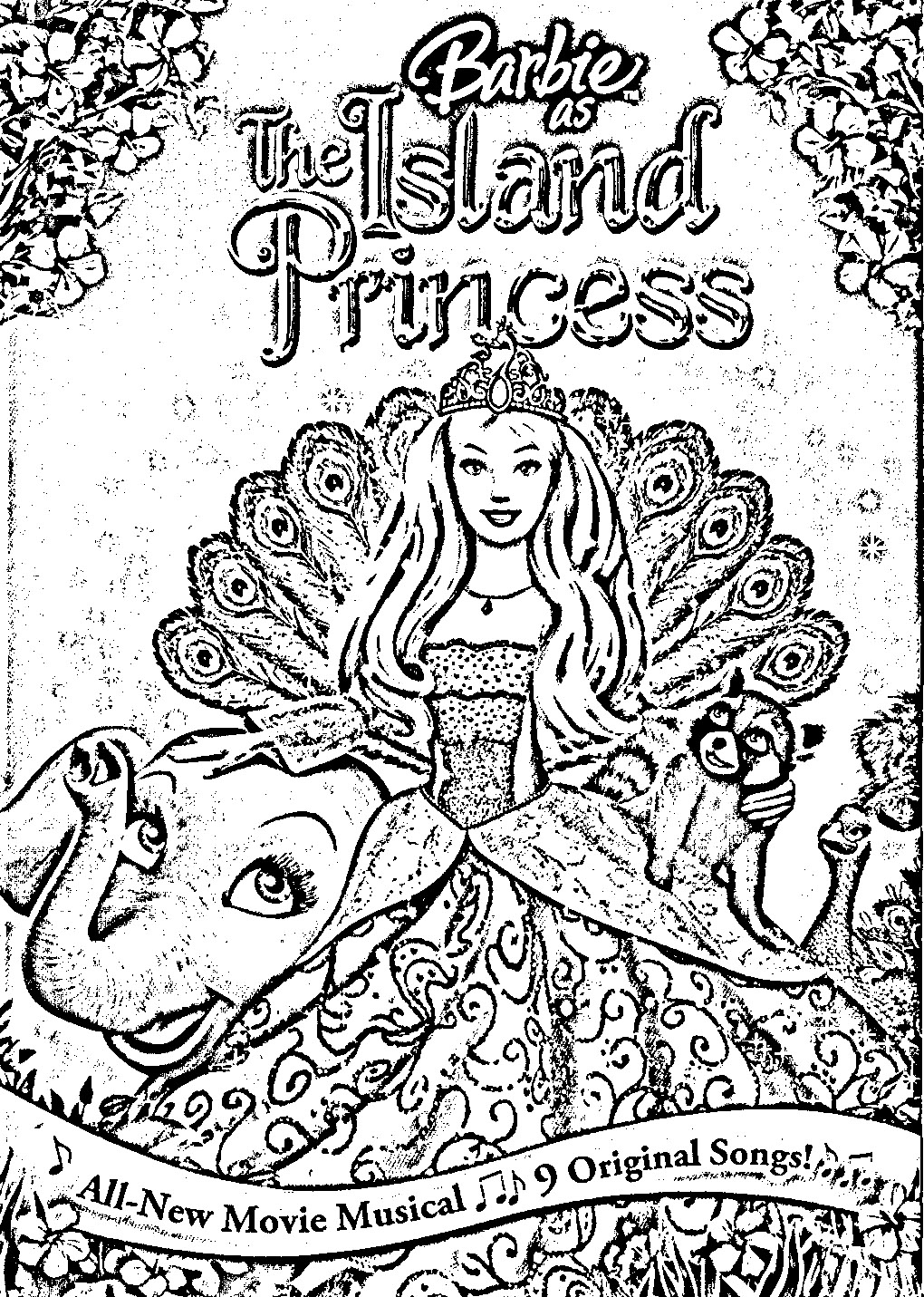 Barbie as The Island Princess Colouring Pictures 6