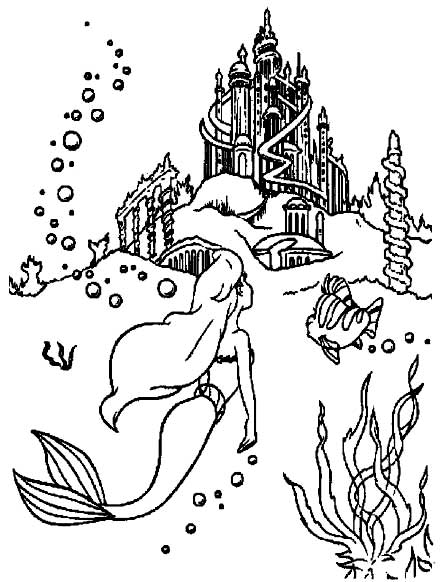Barbie in a Mermaid Tale Colouring Pictures 4
