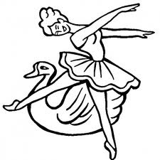 Barbie of Swan Lake Colouring Pictures 3