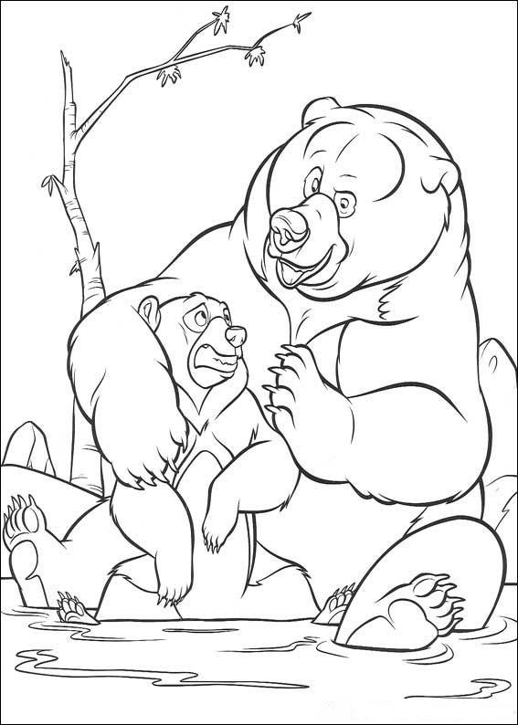 Brother Bear Colouring Pictures 10