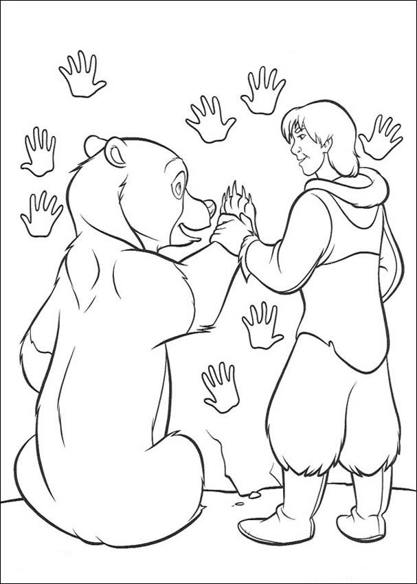 Brother Bear Colouring Pictures 2