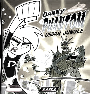 Danny Phantom Urban Jungle Colouring Pictures 1
