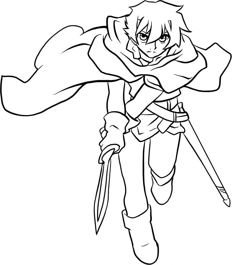 Deltora Quest Colouring Pictures 4