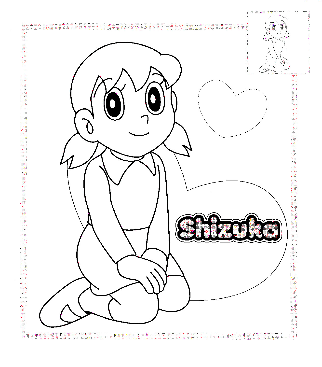 Doraemon Colouring Pictures 12