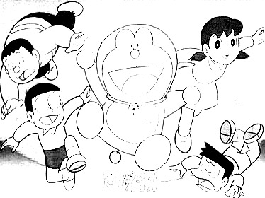 Doraemon Colouring Pictures 3