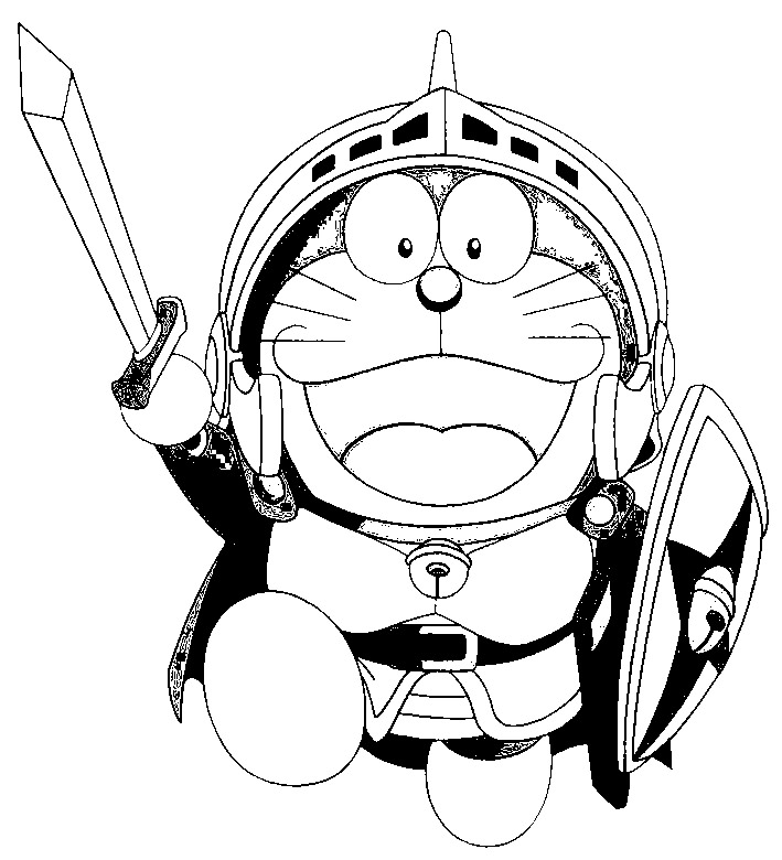 Doraemon Colouring Pictures 4