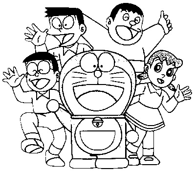 Doraemon Colouring Pictures 5
