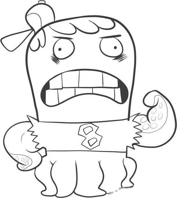 Fish Hooks Colouring Pictures 10