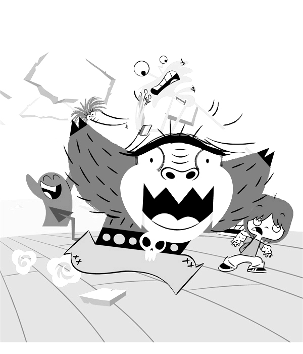 Fosters Home for Imaginary Friends Colouring Pictures 12