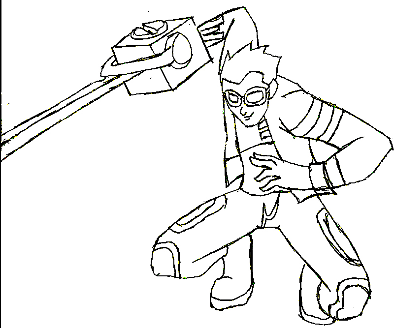 Generator Rex Colouring Pictures 1