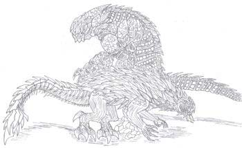 Godzilla Colouring Pictures 10