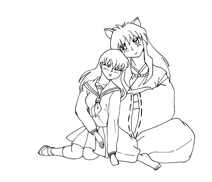 Inuyasha The Final Act Colouring Pictures 6