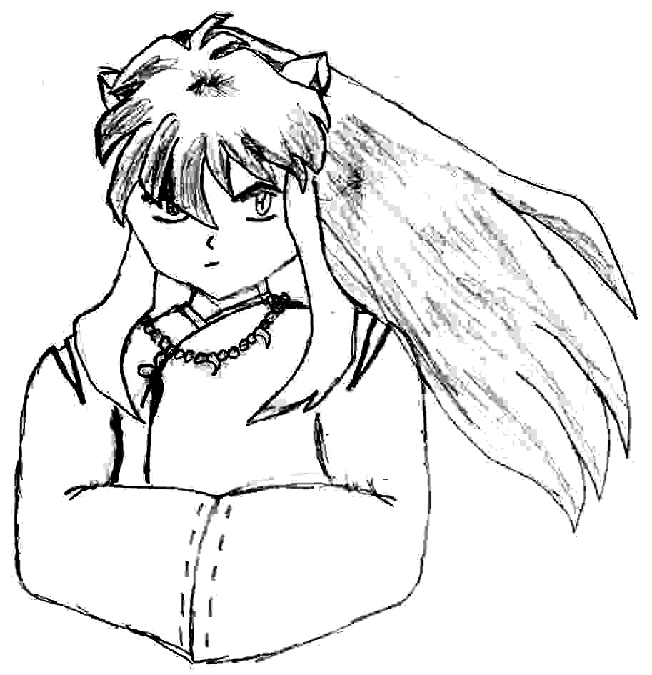 Inuyasha The Final Act Colouring Pictures 7