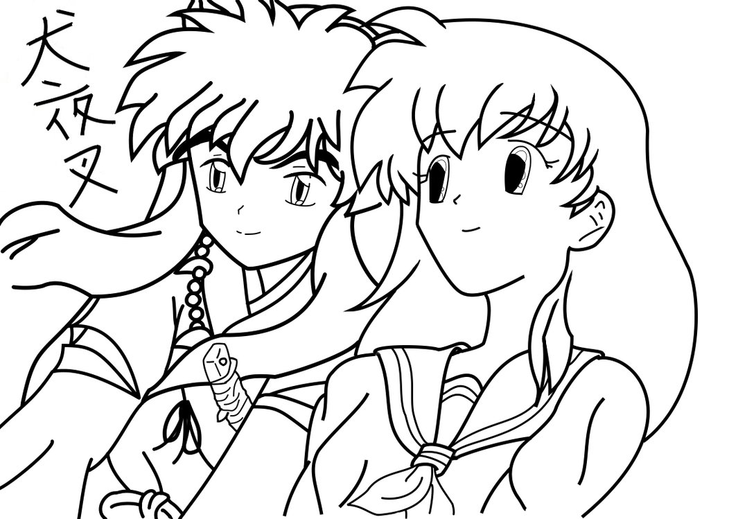 Inuyasha The Final Act Colouring Pictures 8
