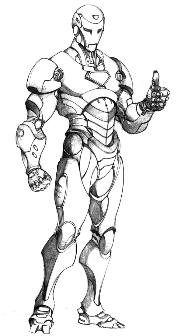 Mark 12 Iron Man Coloring Pages Coloring Coloring Pages