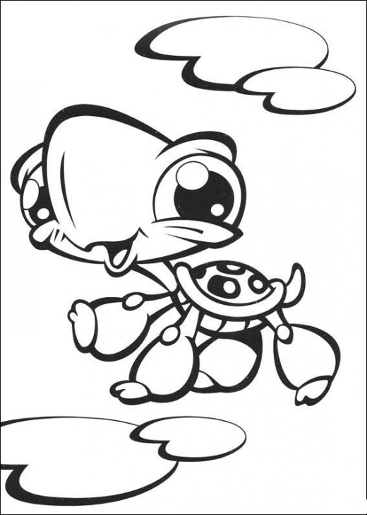Littlest Pet Shop Colouring Pictures 1
