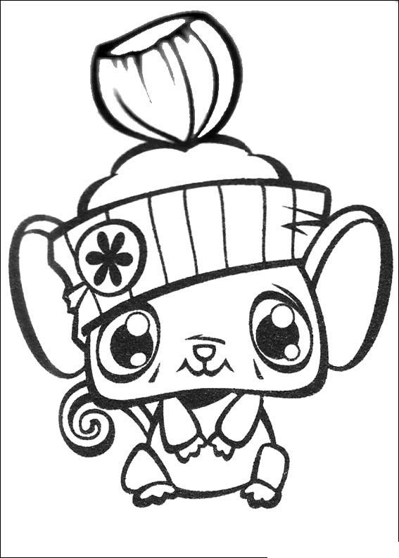Littlest Pet Shop Colouring Pictures 6