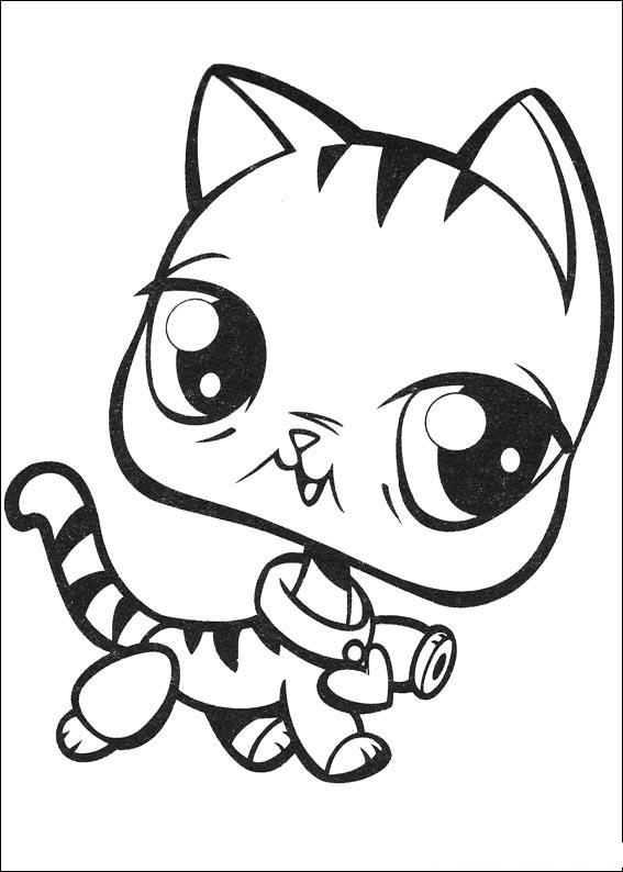 Littlest Pet Shop Colouring Pictures 8