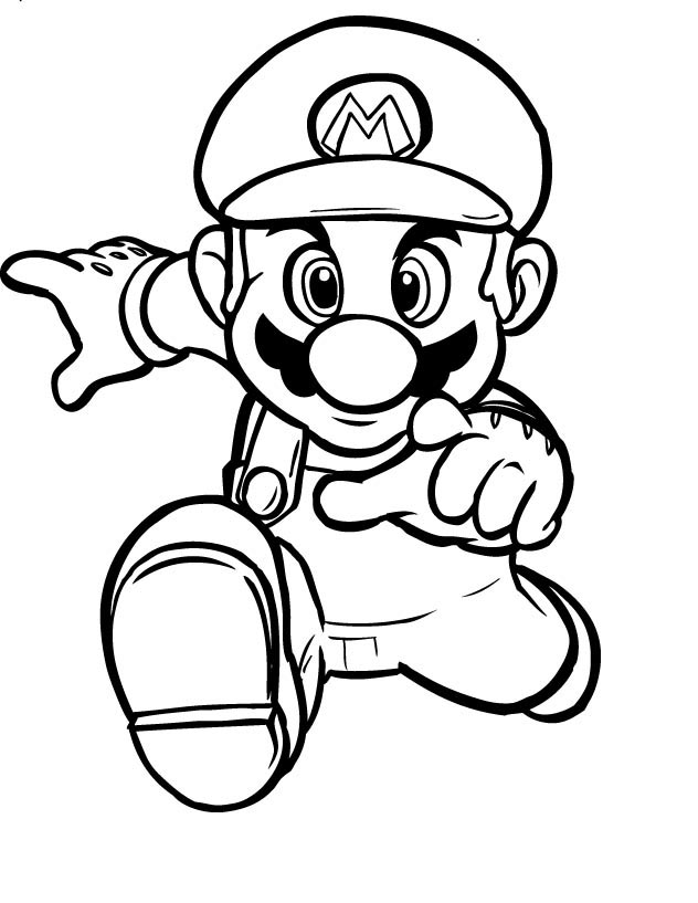 Mario Colouring Pictures 2