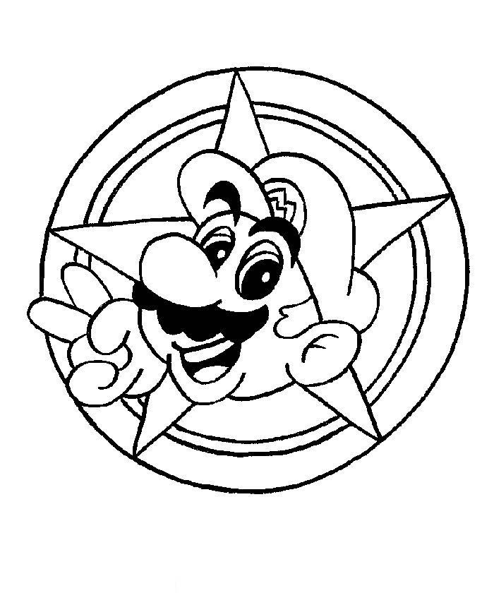 Mario Colouring Pictures 3