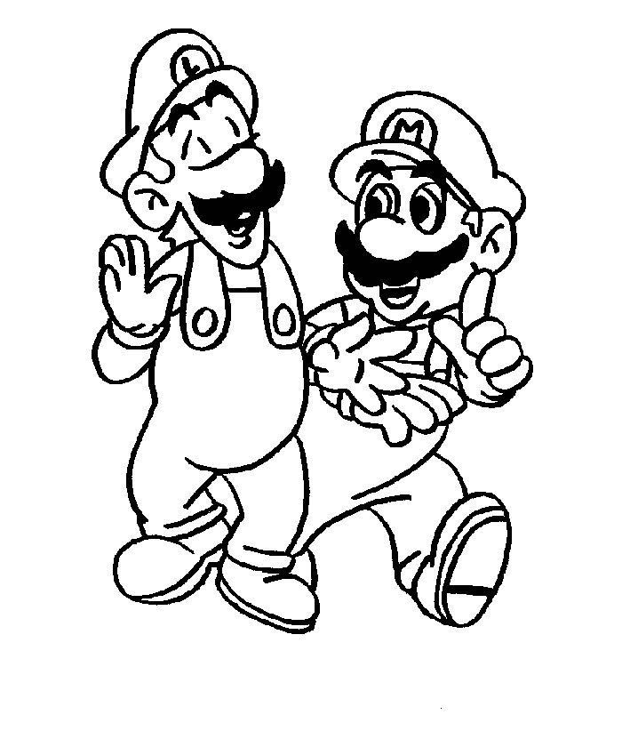 Mario Colouring Pictures 5