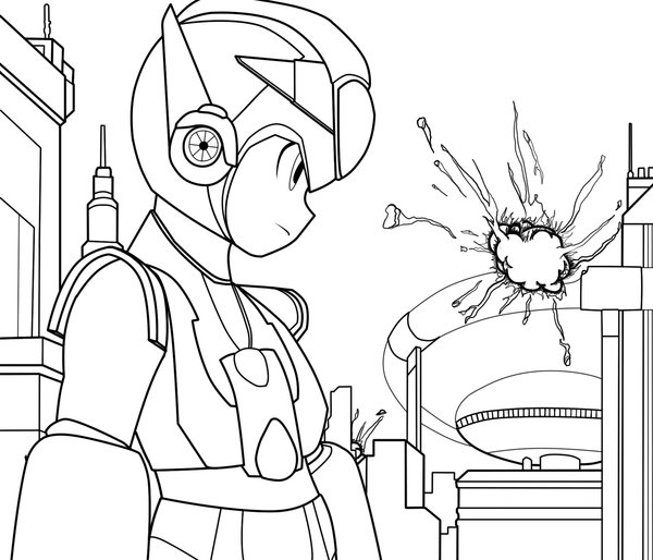 Megaman ZX Colouring Pictures 2