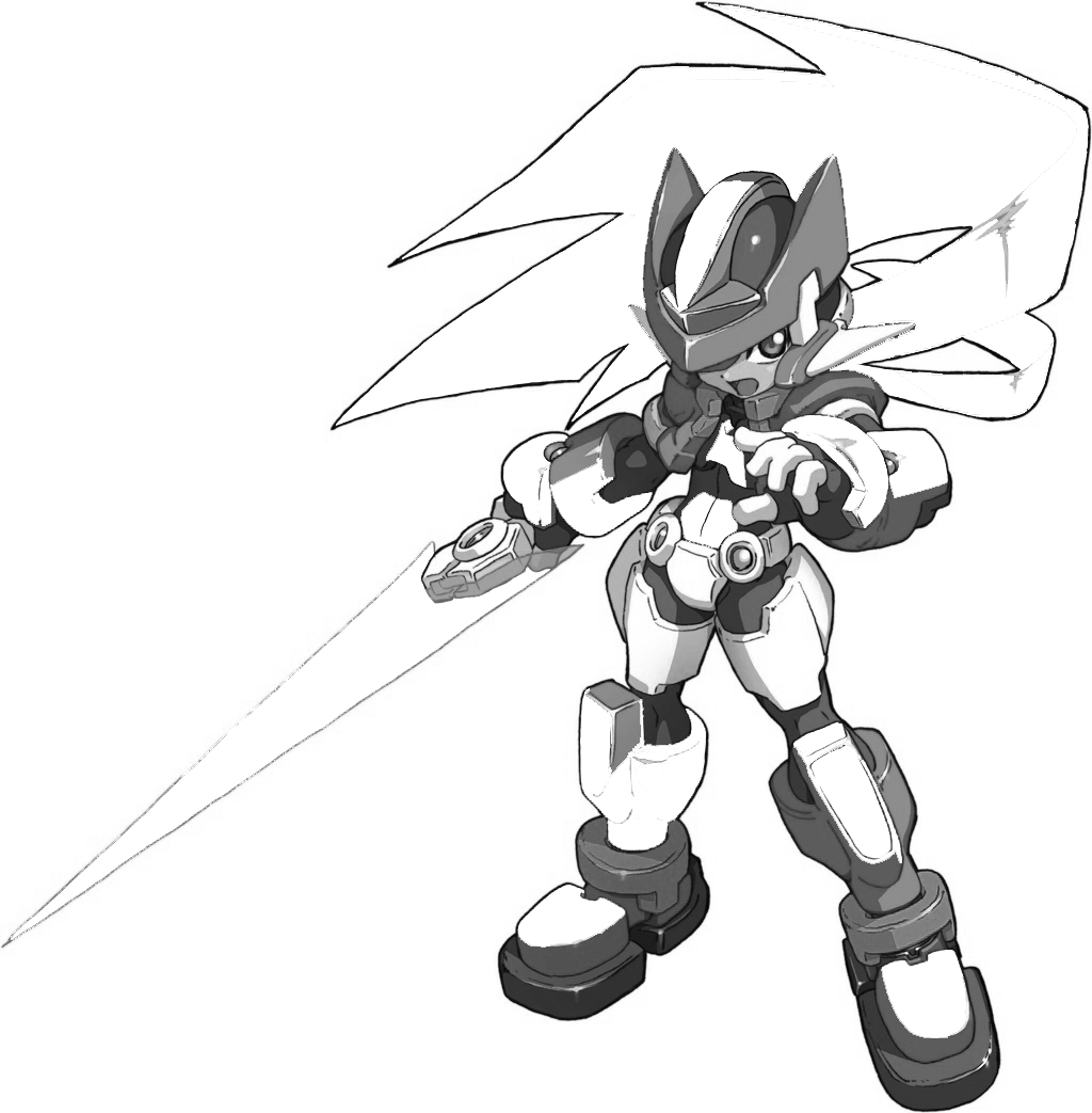Megaman ZX Colouring Pictures 6
