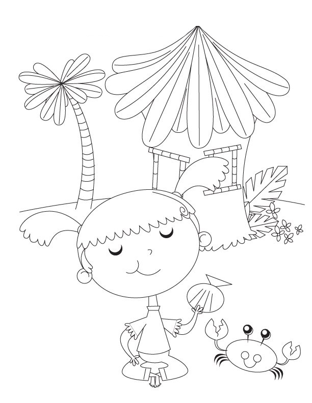 Preschool Colouring Pictures 1
