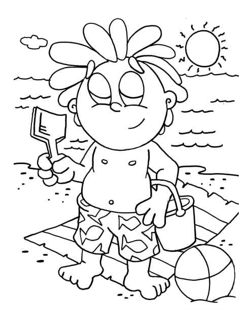 Preschool Colouring Pictures 10