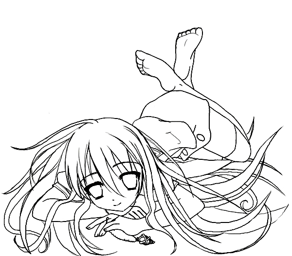 Shakugan No Shana II Colouring Pictures 4