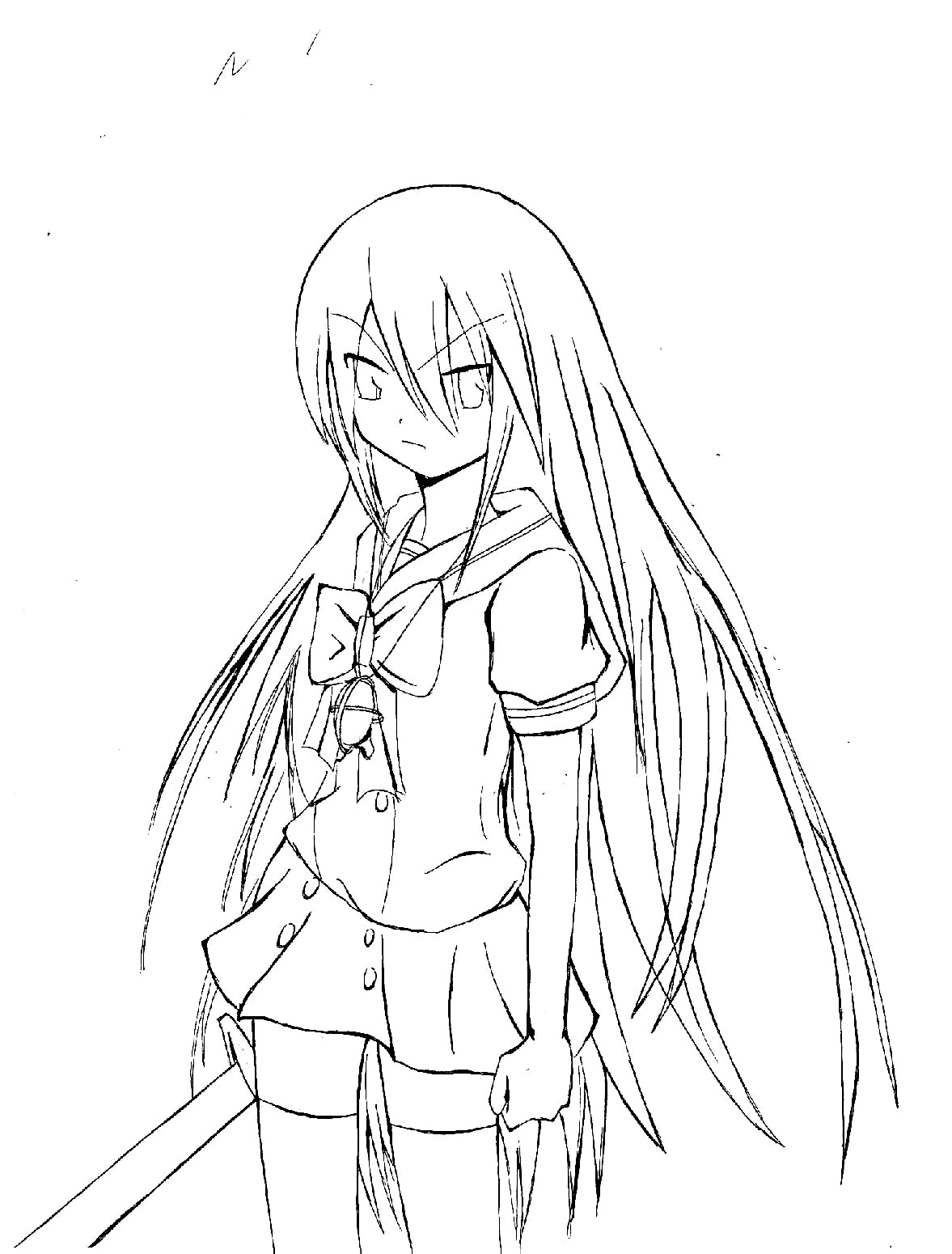 Shakugan No Shana II Colouring Pictures 5