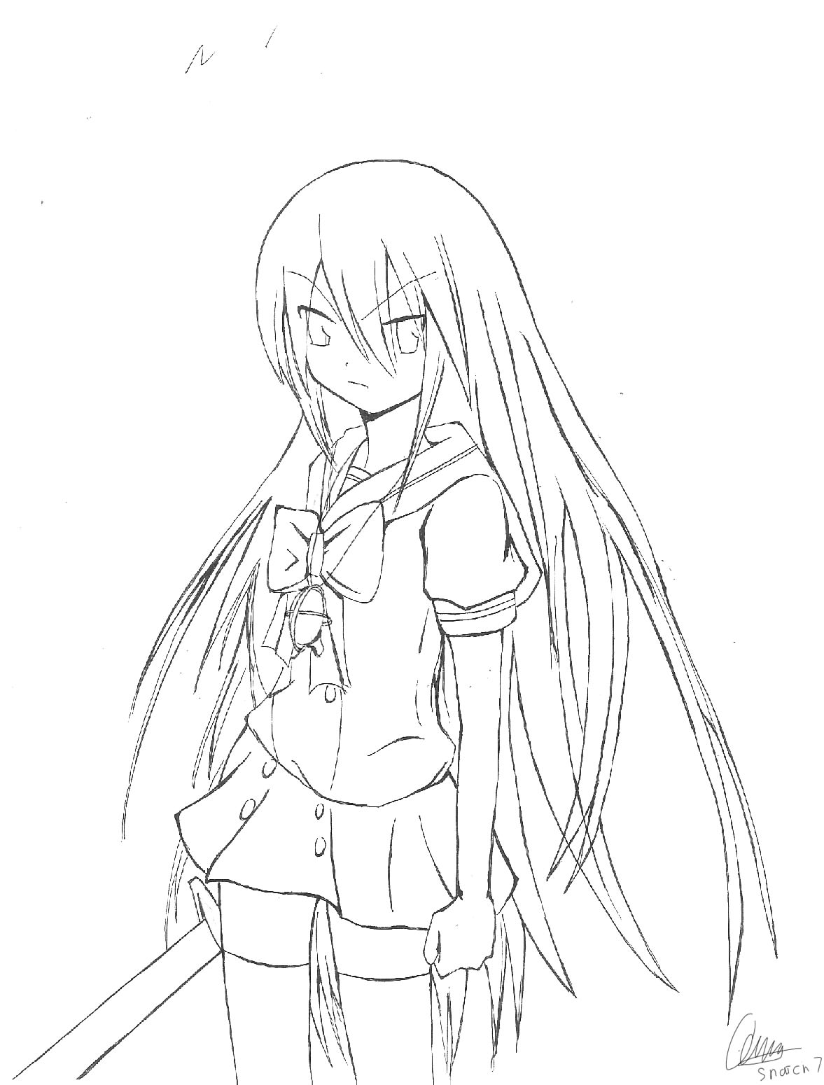 Shakugan No Shana II Colouring Pictures 6