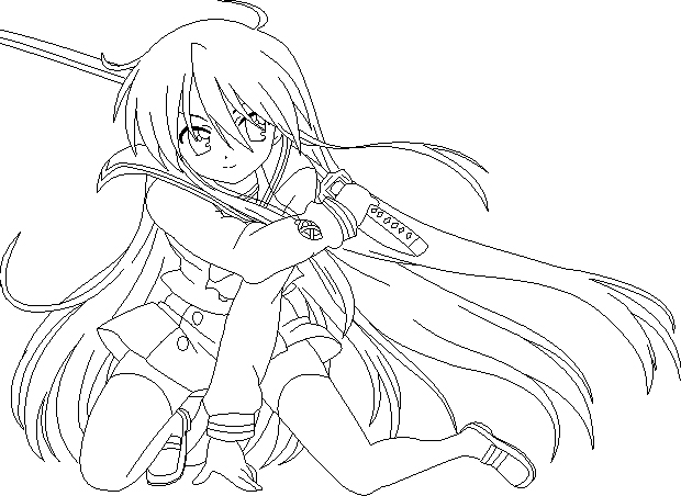 Shakugan No Shana II Colouring Pictures 8