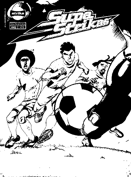 Supa Strikas Colouring Pictures 10