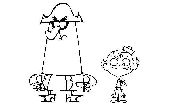 The Marvelous Adventure of Flapjack Colouring Pictures 10