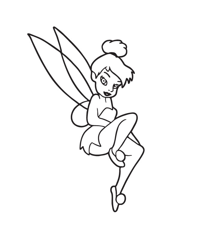 tinkerbell coloring pages on coloring bookinfo tinkerbell