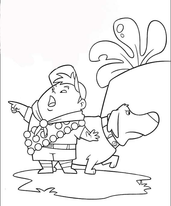 Up Colouring Pictures 5