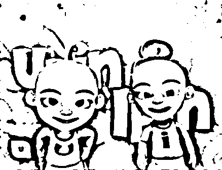 Upin Ipin Colouring Pictures 10
