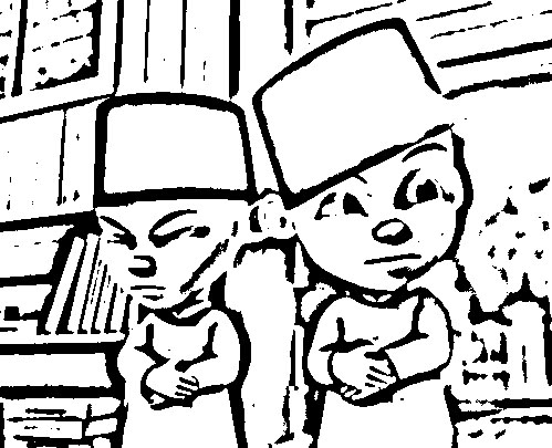Upin Ipin Colouring Pictures 11