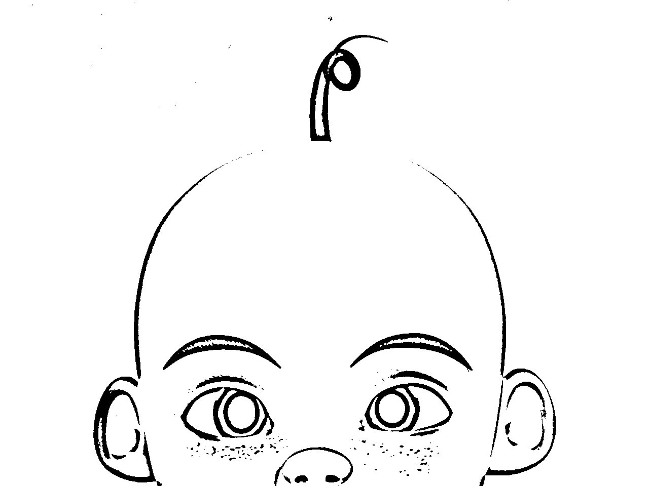 Upin Ipin Colouring Pictures 6