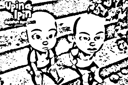 Upin Ipin Colouring Pictures 7